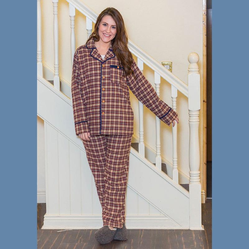 Boyfriend-Pyjama für Damen