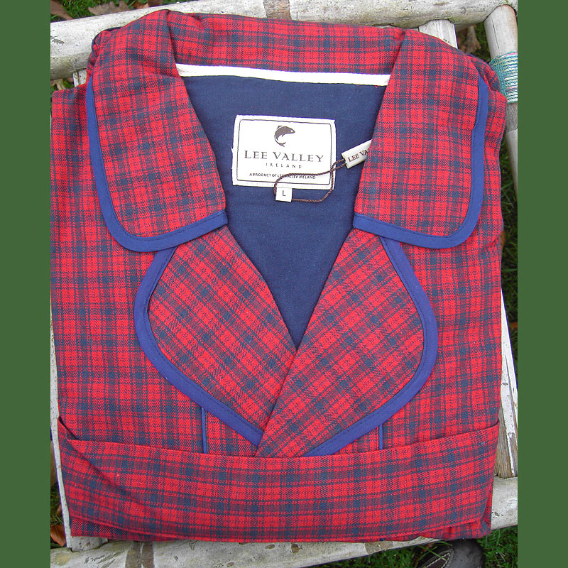 Bademantel Country Flanell