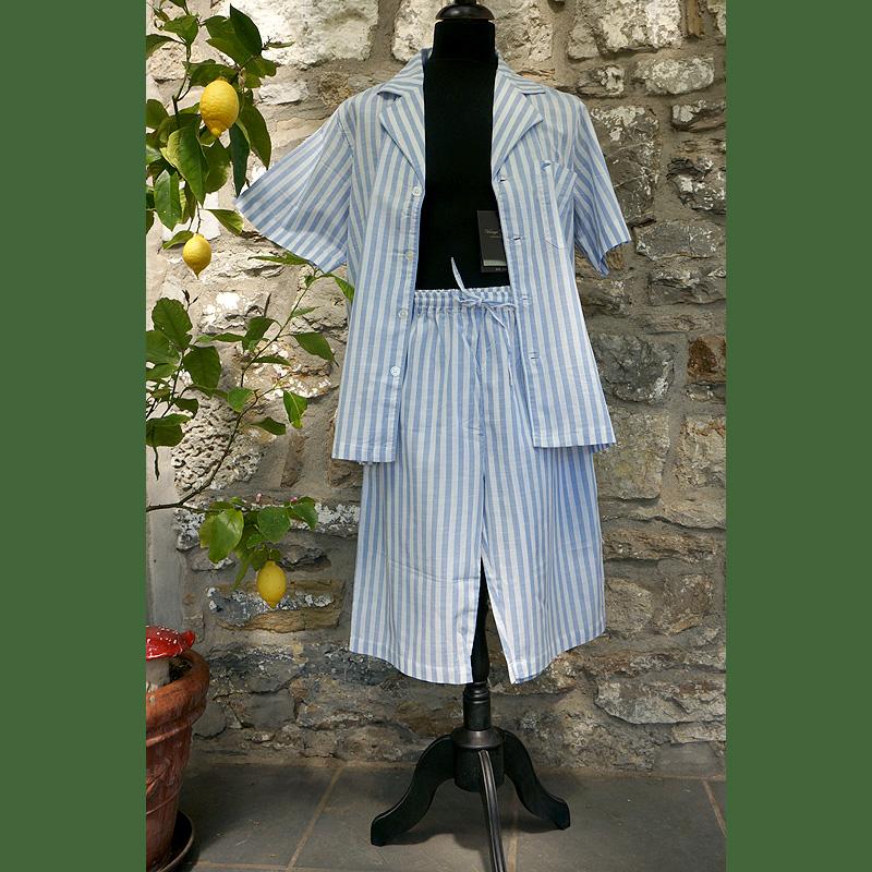 leichter Baumwoll-Pyjama