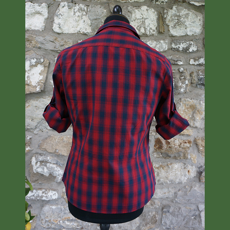 Country -Look Damenbluse