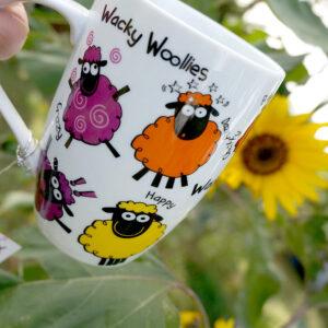 Wacky Woollies Tasse aus Irland