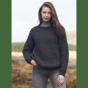 Aran-Pullover, Zopfmuster Pullover aus Irland