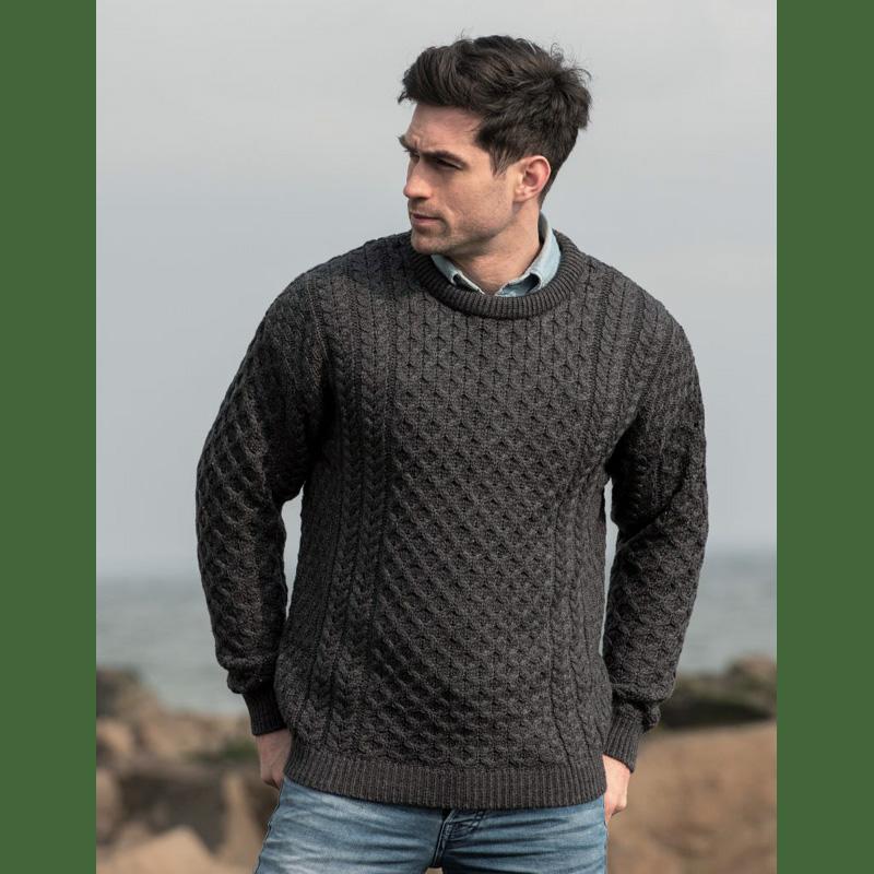 Aran-Pullover aus Irland