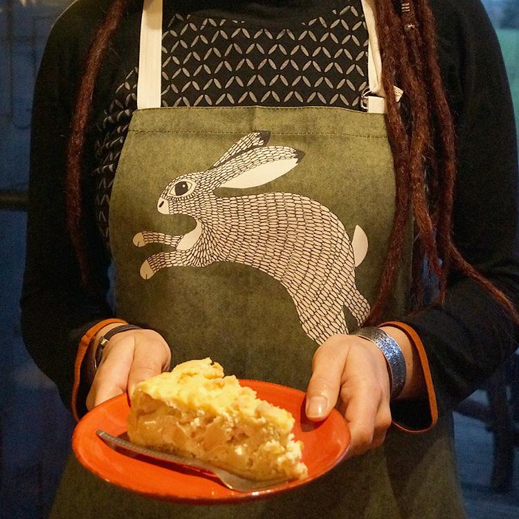 Küchen Schürze mit Hase